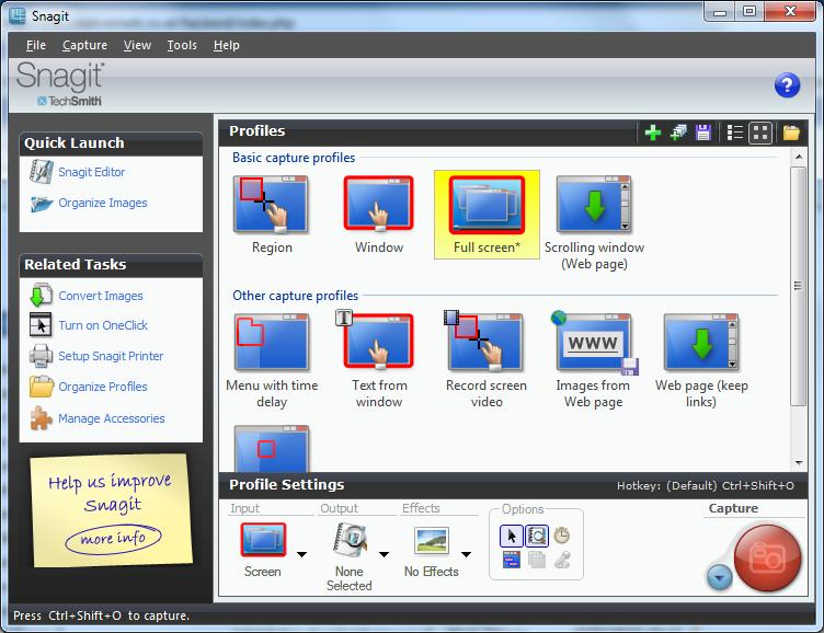 Screen Capture and Screen Recording Tools